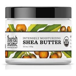 Nourish - Intensive Moisturizer Organic Raw Shea Butter - 5.5 oz.
