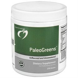Designs For Health - PaleoGreens Unflavored and Unsweetened - 270 Grams