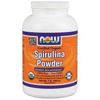 NOW Foods Spirulina Powder Certified Organic, 1 lb