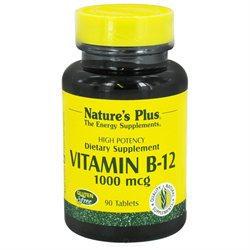 Nature's Plus - Vitamin B-12 1000 mcg. - 90 Tablets