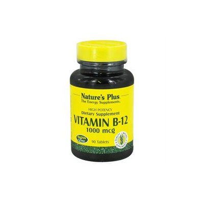 Nature's Plus - Vitamin B-12 1000 mcg. - 90 Tablets