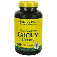 Nature's Plus Calcium 600MG - 180 Capsules - Calcium