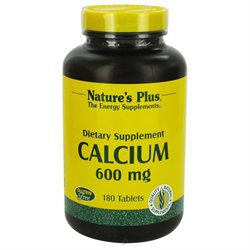 Nature's Plus Calcium 600MG - 180 Capsules - Calcium