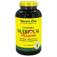 Nature's Plus - Nutri-Cal Hearts Chewable - 120 Tablets