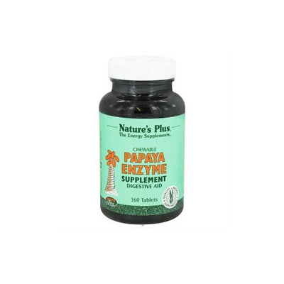 Nature's Plus Chewable Papaya Enzyme - 360 Tablets