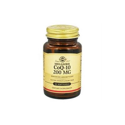 Solgar - Megasorb CoQ-10 200 mg. - 30 Softgels