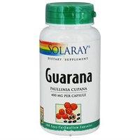 Solaray Guarana 400MG - 100 Capsules - Other Herbs