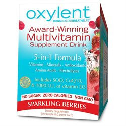 Vitalah Oxylent Oxygenating Daily Multivitamin Drink Sparkling Berries - 30 Packets