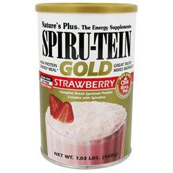 Nature's Plus Spiru-Tein Gold Shake Strawberry - 1.03 lbs