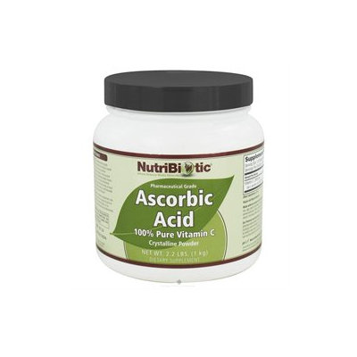 Nutribiotic - Ascorbic Acid Crystalline Powder 100 Pure Vitamin C 2500 mg. - 2.2 lbs.