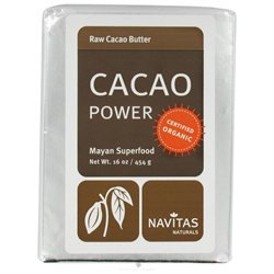 Navitas Naturals - Cacao Power Raw Butter Certified Organic - 16 oz.