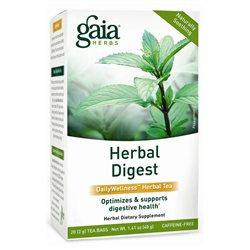 Gaia Herbs Herbal Digest Tea, 20 bags