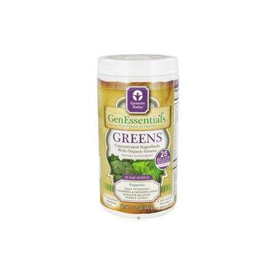 Genesis Today, GenEssentials Greens 15.5 oz