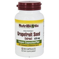 Nutribiotic - High Potency Grapefruit Seed Extract GSE 125 mg. - 90 Capsules