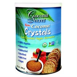 No Coconut Secret Raw Coconut Crystals - 12 oz