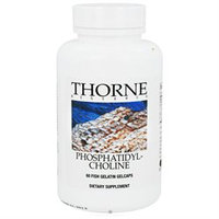 Thorne Research - Phosphatidyl Choline - 60 Gelcaps