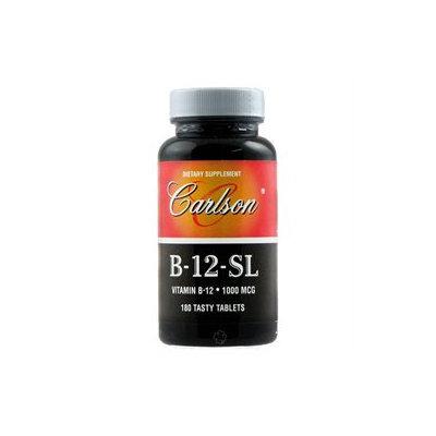 Carlson Laboratories B-12-Sl 1000 MCG - 180 Sublingual Tablets - Vitamin B-12