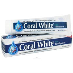 Coral Incorporated Coral White Mint - 6 Ounces Toothpaste - Toothpaste & Tooth Powder