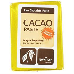 Navitas Naturals - Cacao Paste Raw Chocolate Certified Organic - 16 oz.