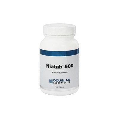 Douglas Laboratories Niatab 500 Tablets, 100 ea