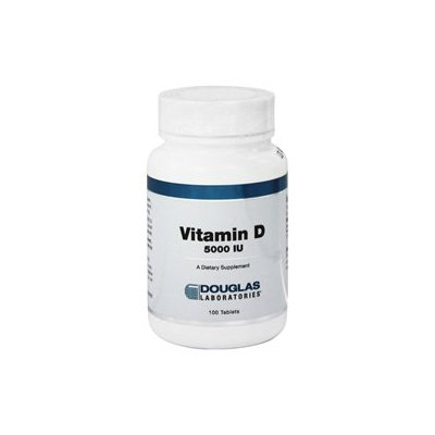 Douglas Laboratories - Vitamin D 5000 IU - 100 Tablets