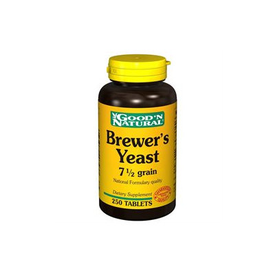Good 'N Natural - Brewer's Yeast - 250 Tablets Formerly 7 1/2 Grain