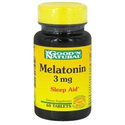 Good 'N Natural - Melatonin 3 mg. - 60 Tablets