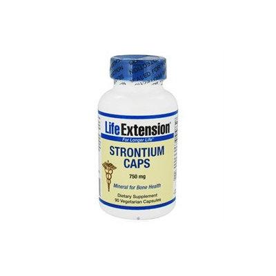 Life Extension - Strontium Caps 750 mg. - 90 Vegetarian Capsules