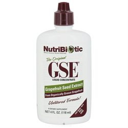 NutriBiotic GSE Grapefruit Seed Extract Liquid Concentrate - 4 fl oz