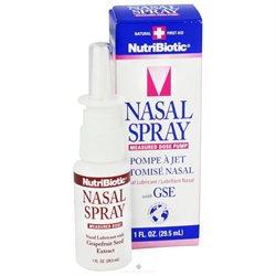 NutriBiotic, Nasal Spray with GSE 1 fl oz