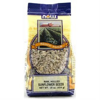 NOW Foods - Sunflower Seeds Raw Hulled Unsalted - 1 lb.