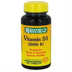 Good 'N Natural - Vitamin D3 1000 IU - 100 Tablets