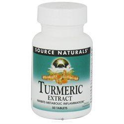 Source Naturals Turmeric Extract - 50 Tablets - Turmeric