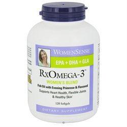Natural Factors RxOmega Women's Fish Oil Softgels