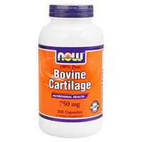 NOW Foods Bovine Cartilage 750 mg Caps