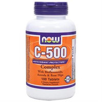 NOW Foods - Vitamin C-500 Complex Vegetarian - 100 Tablets