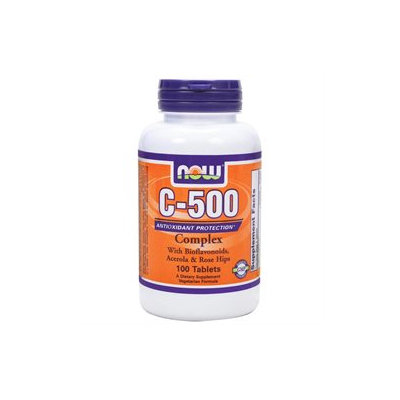 NOW Foods - Vitamin C-500 Complex Vegetarian - 100 Tablets