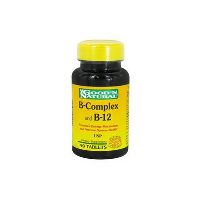 Good 'N Natural - B-Complex and B-12 - 90 Tablets