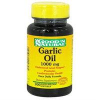 Good 'N Natural - Garlic Oil 1000 mg. - 100 Softgels
