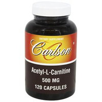 Carlson Labs - Acetyl-L-Carnitine 500 mg. - 120 Capsules