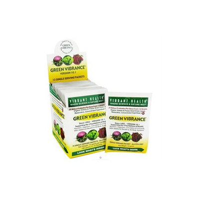 Vibrant Health - Green Vibrance Version 12.0 - 15 Packets
