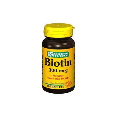 Good 'N Natural - Biotin 300 mcg. - 100 Tablets