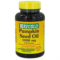 Good 'N Natural - Pumpkin Seed Oil 1000 mg. - 100 Softgels