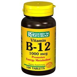 Good 'N Natural - Vitamin B-12 1000 mcg. - 100 Tablets