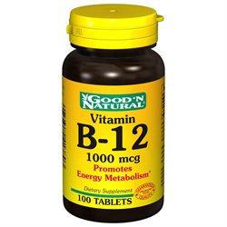 Good 'N Natural - Vitamin B-12 1000 mcg. - 100 Tablets