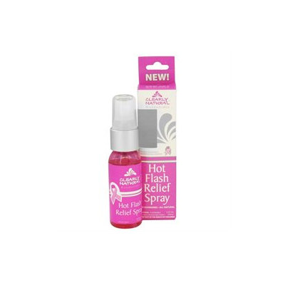 Clearly Natural - Hot Flash Relief Spray - 1 oz.