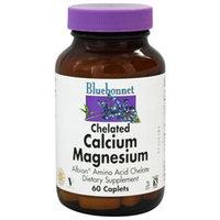 Bluebonnet Nutrition - Chelated Calcium Magnesium - 60 Caplets