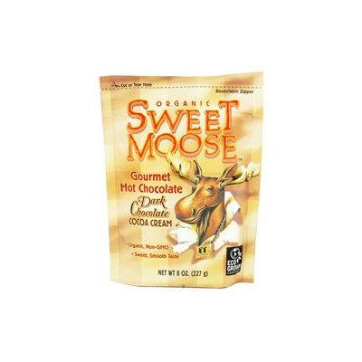 FunFresh Foods - Sweet Moose Gourmet Hot Chocolate Organic Cocoa Dark Chocolate Cocoa Cream - 8 oz.