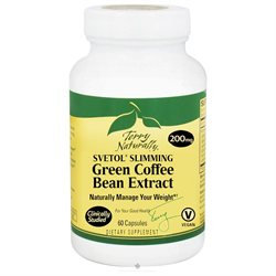EuroPharma - Terry Naturally Svetol Slimming Green Coffee Bean Extract 200 mg. - 60 Capsules