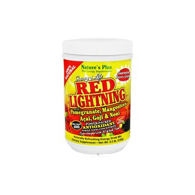 Nature's Plus Source Of Life Red Lightning Antioxidant Energy Drink